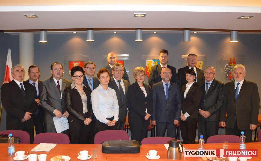Zdjęcie przedstawiające Radę Powiatu V Kadencji 2014-2018