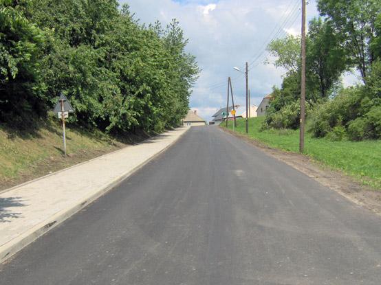 Modernizacja drogi z Białej do Prężynki