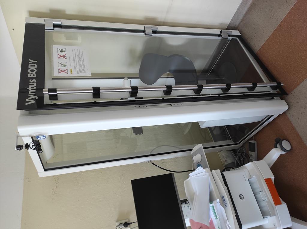 Zdjęcie przedstawiające zakupiony sprzęt medyczny